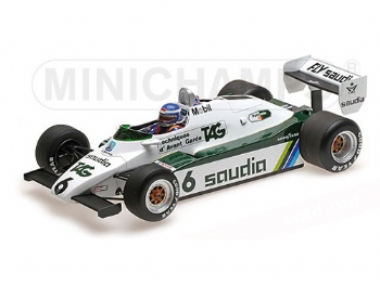 Minichamps 820106 Williams FW08 F.1 Ford #6 W.C. 1982