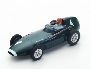 Spark Models S4872 Vanwall VW5 #4 Winner Belgium GP 1958
